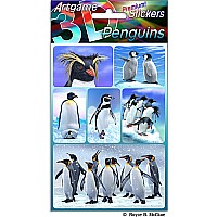 Penguins 3D Stickers