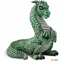 Grumpy Dragon Figurine
