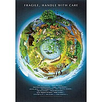 Fragile Earth Poster Rolled Sleeved