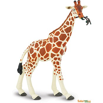 Reticulated Giraffe Figurine