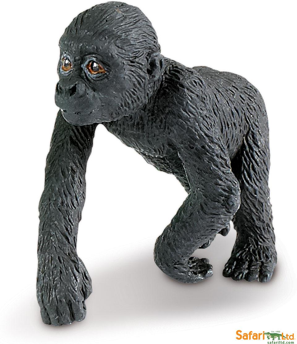 Safari Wild Lowland Gorilla Baby - Stevensons Toys