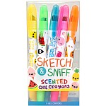 Sketch & Sniff Gel Crayons 5-Pack
