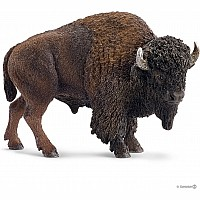 American Bison Toy Figure
