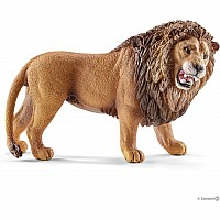 Schleich Lion Roaring Toy Figure