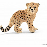 Africa Cheetah Cub Toy Figure