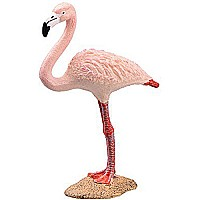 Schleich North America Schleich Flamingo Toy Figure, Pink