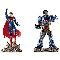 Schleich Superman vs. Darkseid Scenery Action Figure Pack