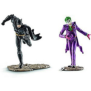 Schleich Batman vs. The Joker Scenery Action Figure Pack