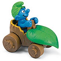 Smurf In Car