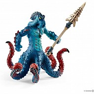 Monster Kraken With Weapon