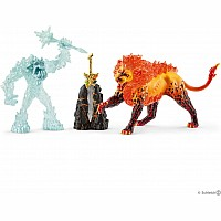 Battle For The Superweapon - Frost Monster Vs. Fire Lion