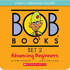 BOB Books Set 2: Advancing Beginners: 8 Books for young readers