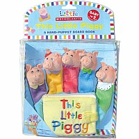 Little Scholastic: This Little Piggy: A Hand-puppet Board Book