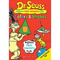 DR. Seuss Learning Cards: Colors Shapes
