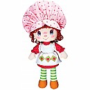 "13"" Strawberry Short Cake Rag Doll"