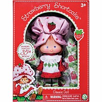 "6"" Retro Strawberry Short Cake Doll"