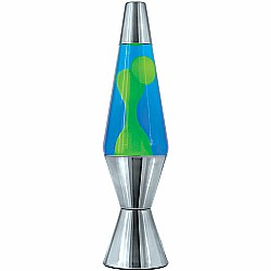 14.5'' metallic lava lamp