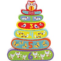 Fisher-Price My First Stacking Nest Puzzle