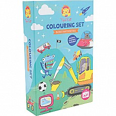 Boys Favorites Coloring Set