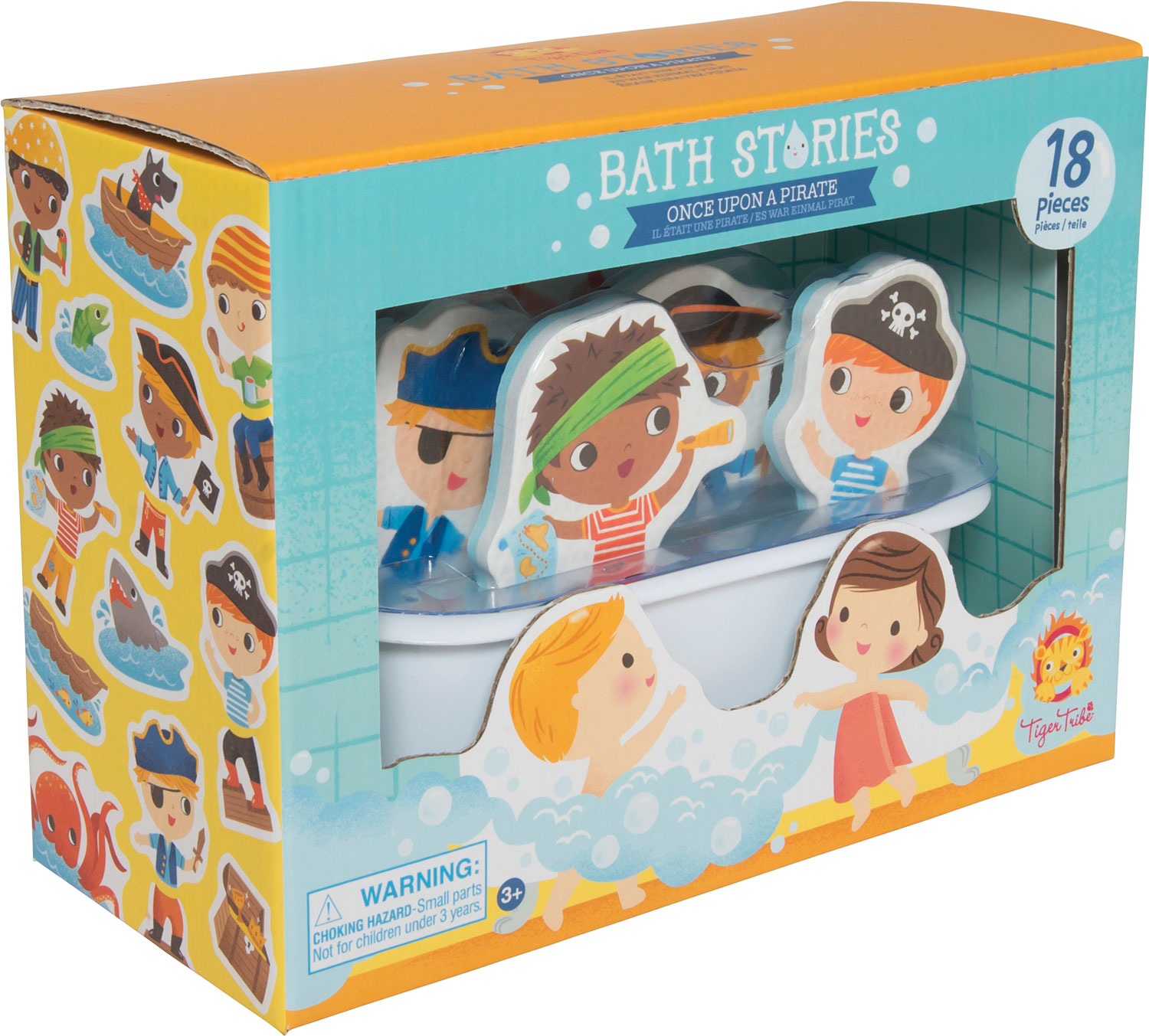 Pirate Bath Stories - Olde Towne Toys