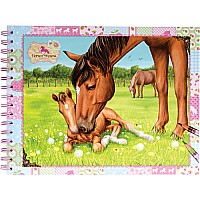 Horses Dreams Coloring Book