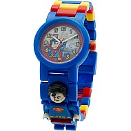 LEGO Super Heroes Diecast Universe Superman Minifigure Link Watch