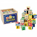 Alphabet Blocks 48 Pcs
