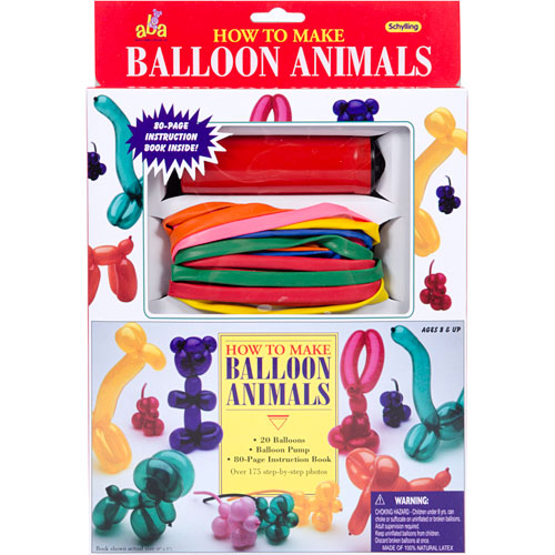 How To Make Balloon Animals Kit By Schylling Franklin039s Toys