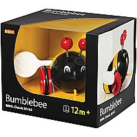 Brio Pull Along Bumblebee