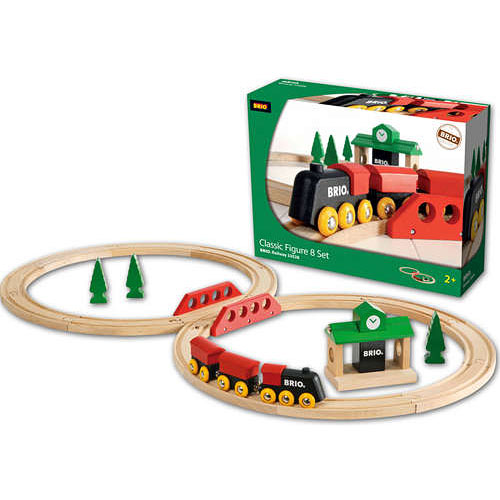 Brio Classic Figure 8 Train Set - The Granville Island Toy Company