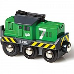 Brio Battery Freight Engine
