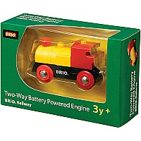 Brio Two Way Battery Powered Engine 33225