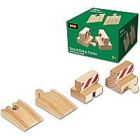 BRIO Ramp and Stop Track Pack