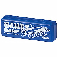 Blues Harmonica In Plastic Case
