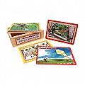 Curious George 4 In 1 Wood Jigsaw Puzzle