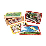 Curious George 4 In 1 Jigsaw Puzzle
