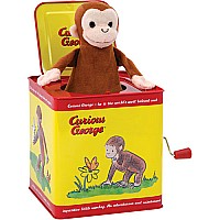 Curious George Jack In The Box (assorted)