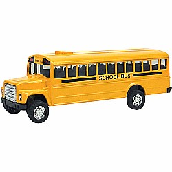 Diecast Bus, Pull-Back