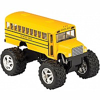Diecast Big Wheel School Bus