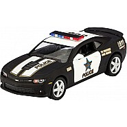 DIE CAST CHEVY CAMARO POLICE CAR