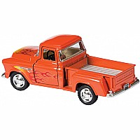 Diecast 55' Chevy Pickup Flames