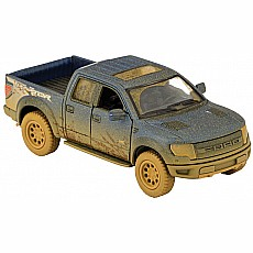 F-150 Muddy Raptor (Blue, Red & Black)