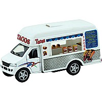 Die Cast Food Trucks Ast