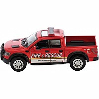 Die Cast Raptor Fire Police Rescue Pick Up