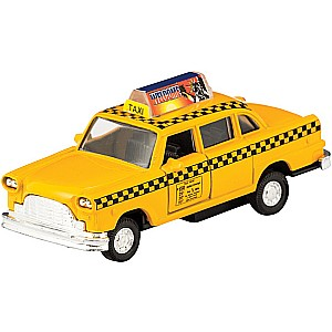 Diecast Taxi Pull-Back