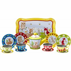 Forest Friends Tea Set