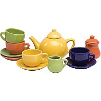 Tea Set, Porcelain: Classic