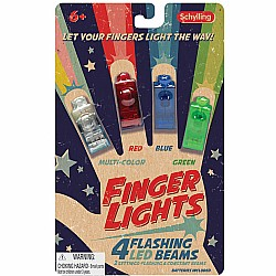 Finger Flashlights (pack of 4)