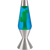"Lava Lamp - 16.3"" Yellow/Blue"