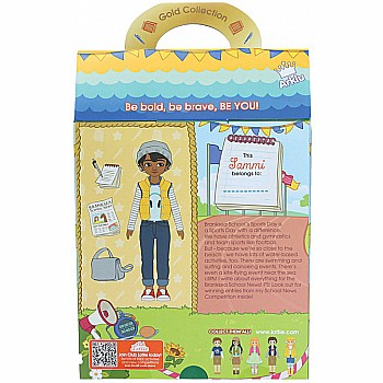 Lottie Doll Junior Reporter - Sammi